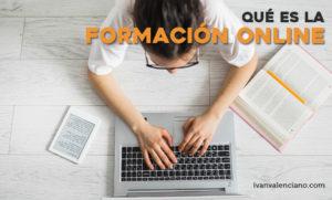 Que es la formación online