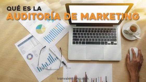 Qué es la auditoría de marketing