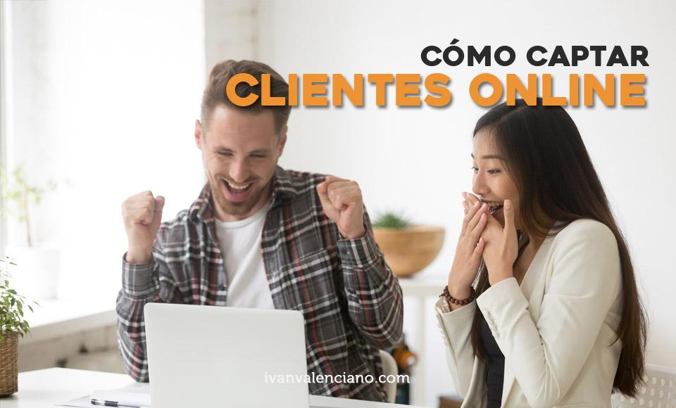 Cómo captar clientes online
