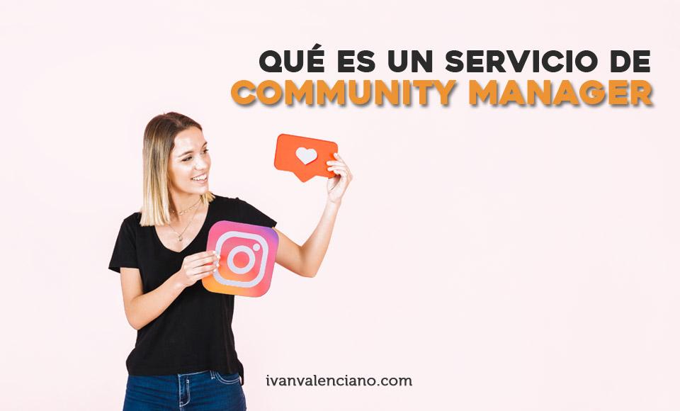 Qué es un servicio de community manager