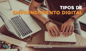 Tipos de emprendimiento digital las familias o nichos