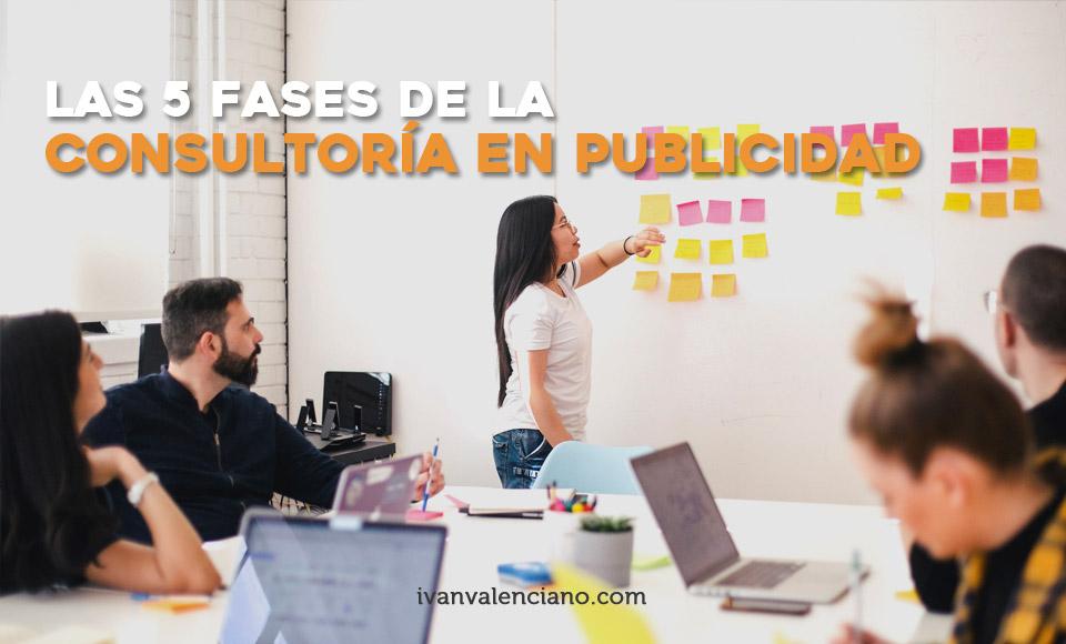 La consultoría en publicidad las 5 fases principales