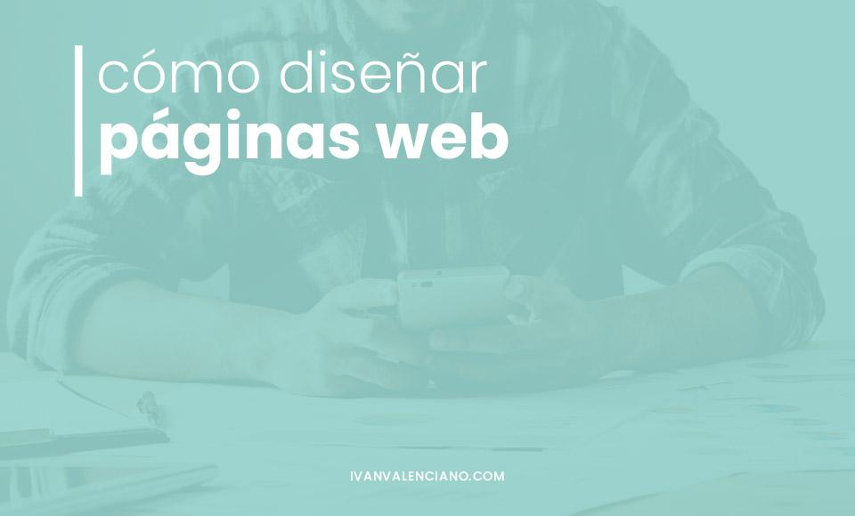 como diseñar paginas web